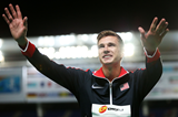 400m hurdles winner Norman Grimes at the IAAF World Youth Championships, Cali 2015 (Getty Images)