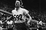 Fanny Blankers-Koen winning the 200m at the 1948 Olympics in London (Getty Images)