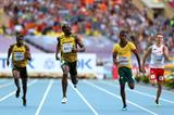 Usain Bolt in the mens 200m semi-finals at the IAAF World Athletics Championships Moscow 2013 (Getty Images)