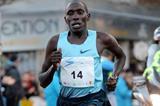 Cornelius Kangogo on his way to victory (Jiro Mochizuki)
