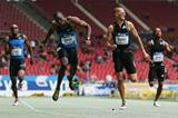 LaShawn Merritt ends the season with a 4-3 head-to-head advantage over arch rival Jeremy Wariner (Getty Images)