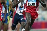 Wilson Kipketer of Denmark in the 800m (Getty Images)