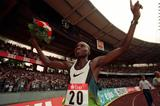 Wilson Kipketer at the 1997 Weltklasse in Koln meeting (Getty Images)