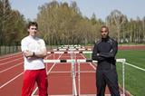 Sergey Shubenkov and Colin Jackson in Barnaul (SPIKES)