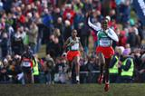 Tirunesh Dibaba en route to victory in Edinburgh (Getty Images)