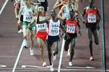 Bernard Lagat of the US wins the men's 1500m final in Osaka (Getty Images)