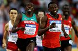 Abubaker Kaki of Sudan retain's 800m title (Getty Images)