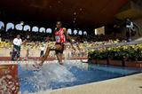 Saif Saaeed Shaheen of Qatar wins the 3000m Steeplechase at the World Athletics Final (Getty Images)