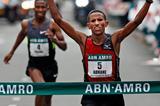 Yemane Tsegay Adhane wins the 2012 Rotterdam Marathon (organisers)