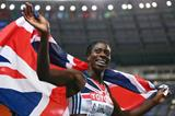 Christine Ohuruogu in the womens 400m Final at the IAAF World Athletics Championships Moscow 2013 (Getty Images)