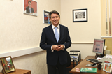 IAAF President Seb Coe at the IAAF Regional Development Centre in Moscow (ARAF)