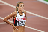 Canadian 800m runner Melissa Bishop at the IAAF World Championships, Beijing 2015 (AFP / Getty Images)