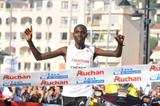 Wilson Chebet defends his Marseille-Cassis title in 2008 (Courtesy of Race Organisers)