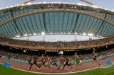 A general view of a packed Olympic stadium in Athens (Getty Images)