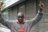 Eric Ndiema on the eve of the Eindhoven Marathon (Marathon Eindhoven / Phil Minshull )