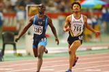 John Capel wins the 200m world title (Getty Images)