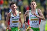 Australia's David McNeill and Liam Adams in the senior men's race (Getty Images)