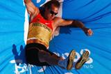 Andre Niklaus competes in the pole vault, his best event in the decathlon (Getty Images)