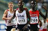 Bernard Lagat of the US wins his second gold of the champs in the 5000m (Getty Images)