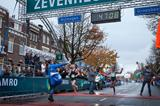 Tirunesh Dibaba winning in Nijmegen (Rob Kleering)