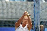 Betty Heidler (GER) prepares to throw in Osaka (Getty Images)
