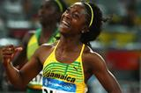 Olympic 100m champion, Shelly-Ann Fraser (Getty Images)