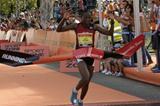 Course record for Alice Mogire in Oporto (RunPorto organisers)
