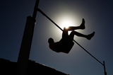A high jumper in action (Getty Images)