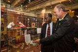 Alberto Juantorena and Don Quarrie - IAAF Centenary Historic Exhibition (IAAF)