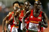 Joshua Cheptegei in the 10,00m at the 2014 IAAF World Junior Championships in Eugene (Getty Images)