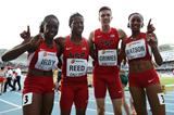 USA's victorious mixed 4x400m relay team at the IAAF World Youth Championships, Cali 2015 (Getty Images)