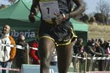 Joseph Ebuya coming home unchallenged in Soria (Concha Ortega)
