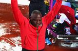 Julius Yego after winning the men's javelin at the 2014 Commonwealth Games (Getty Images)