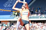 Kamila Licwinko at the 2015 IAAF Diamond League in Birmingham (Jean-Pierre Durand)