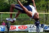 Claston Bernard clearing 2.12 in the Decathlon (Lorenzo Sampaolo)