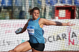 Sandra Perkovic, winner of the discus at the IAAF Diamond League meeting in Rome (Gladys von der Laage)