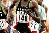Benjamin Limo on his way to the 1999 World XC short course title (Getty Images)