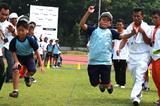 IAAF / Nestlé Kids' Athletics event on 11 October in Stadium Madya, Senayan. (RDC Jakarta)