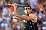 Egypt's Ihab Abdelrahman El Sayed in action in the Javelin (Getty Images)