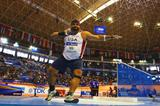 Reese Hoffa threw an almighty 21.49m in the qualifying round of the men's shot (Getty Images)
