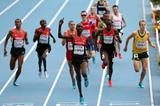 Action shot Asbel Kiprop in the mens 1500m Final at the IAAF World Athletics Championships Moscow 2013 (Getty Images)