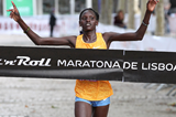 Purity Rionoripo wins the Lisbon Marathon (Organisers / Photorun.net)