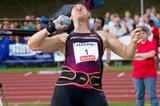 Valerie Adams, winner of the Shot in Lucerne (Organisers)