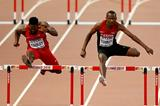 Michael Tinsley and Boniface Tumuti in the 400m hurdles heats at the IAAF World Championships, Beijing 2015 (Getty Images)