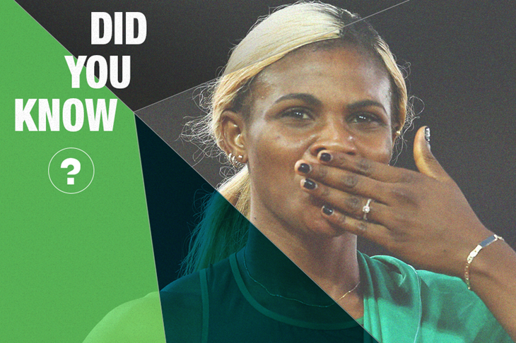 Did you know Blessing Okagbare ()