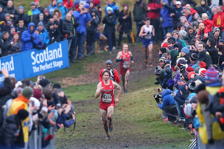 Garrett Heath wins the Great Edinburgh XC ()