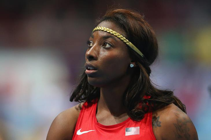 World indoor 60m hurdles champion Nia Ali (Getty Images)