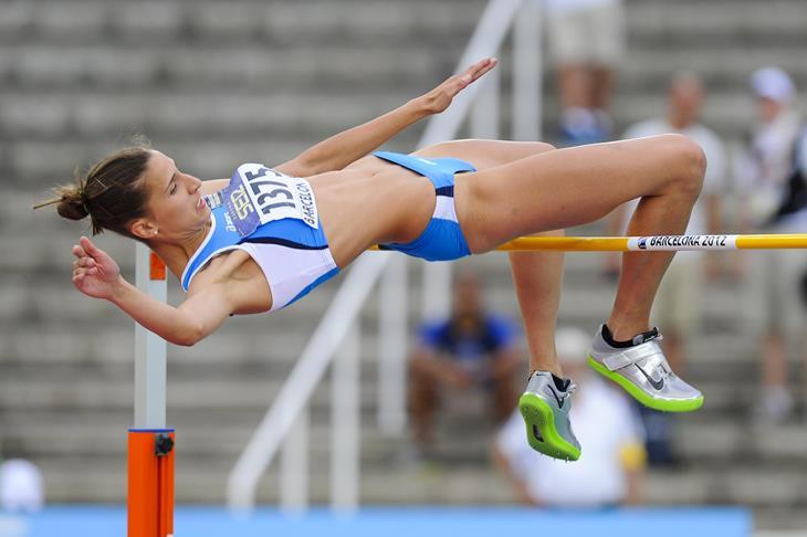 Alessia Trost Italian high jumper ()