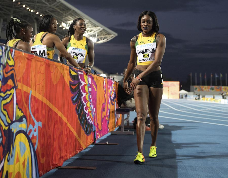 Jamaica's 4x200m women by Jeff Cohen