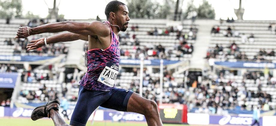 Christian Taylor bounds to victory at the IAAF Diamond League meeting in Paris (Jean-Pierre Durand)